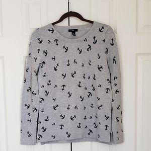 Gap anchor sweater